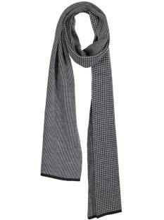 pm1s30008a michaelis sjaal navy motif