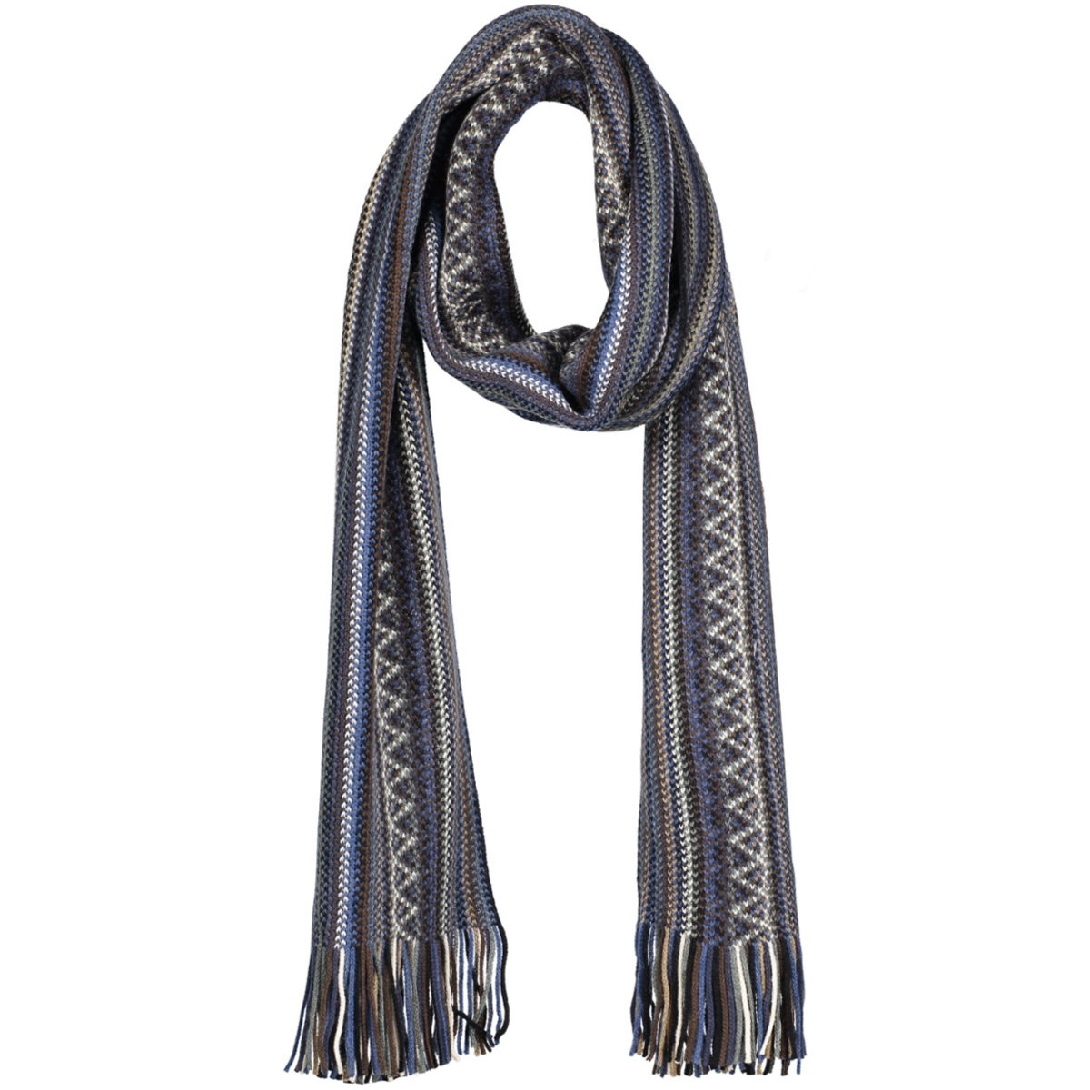 pm1s30013a michaelis sjaal blue stripes