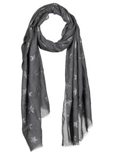 Cream Sjaal 10400884 Dark Grey