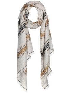 10400887 cream sjaal khaki