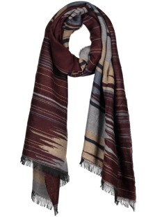 mc100909 haze & finn sjaal burgundy