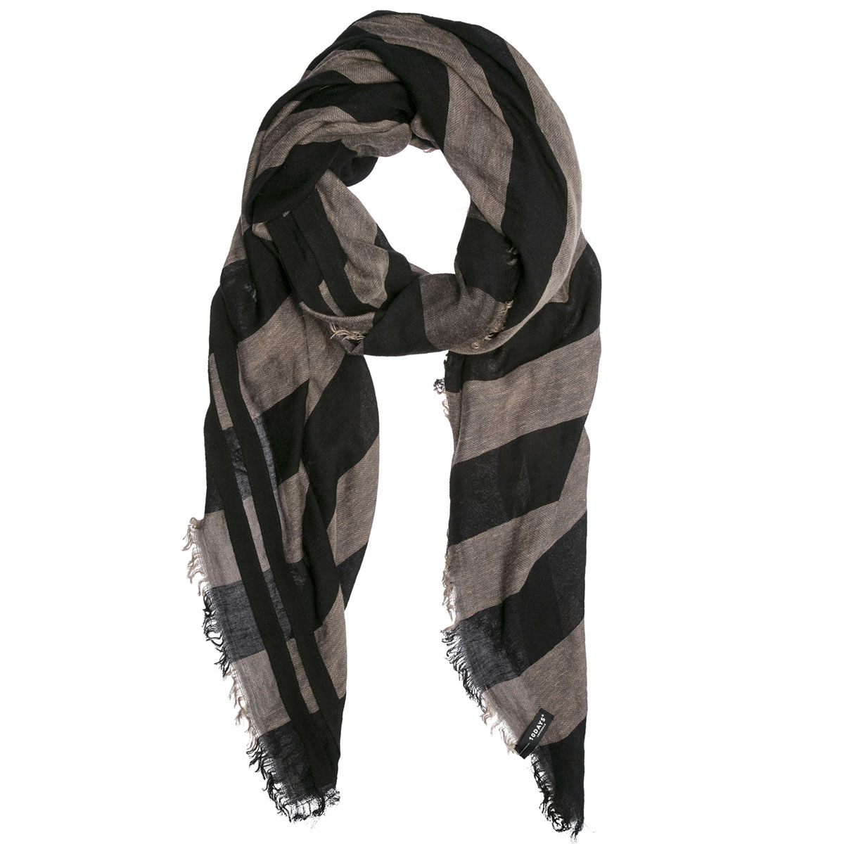 209259101 10 days sjaal charcoal