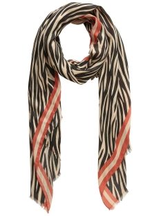 pcelione long scarf 17097469 pieces sjaal white pepper