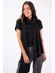 toffe basic sjaal 03ts19fbgr zusss sjaal zwart