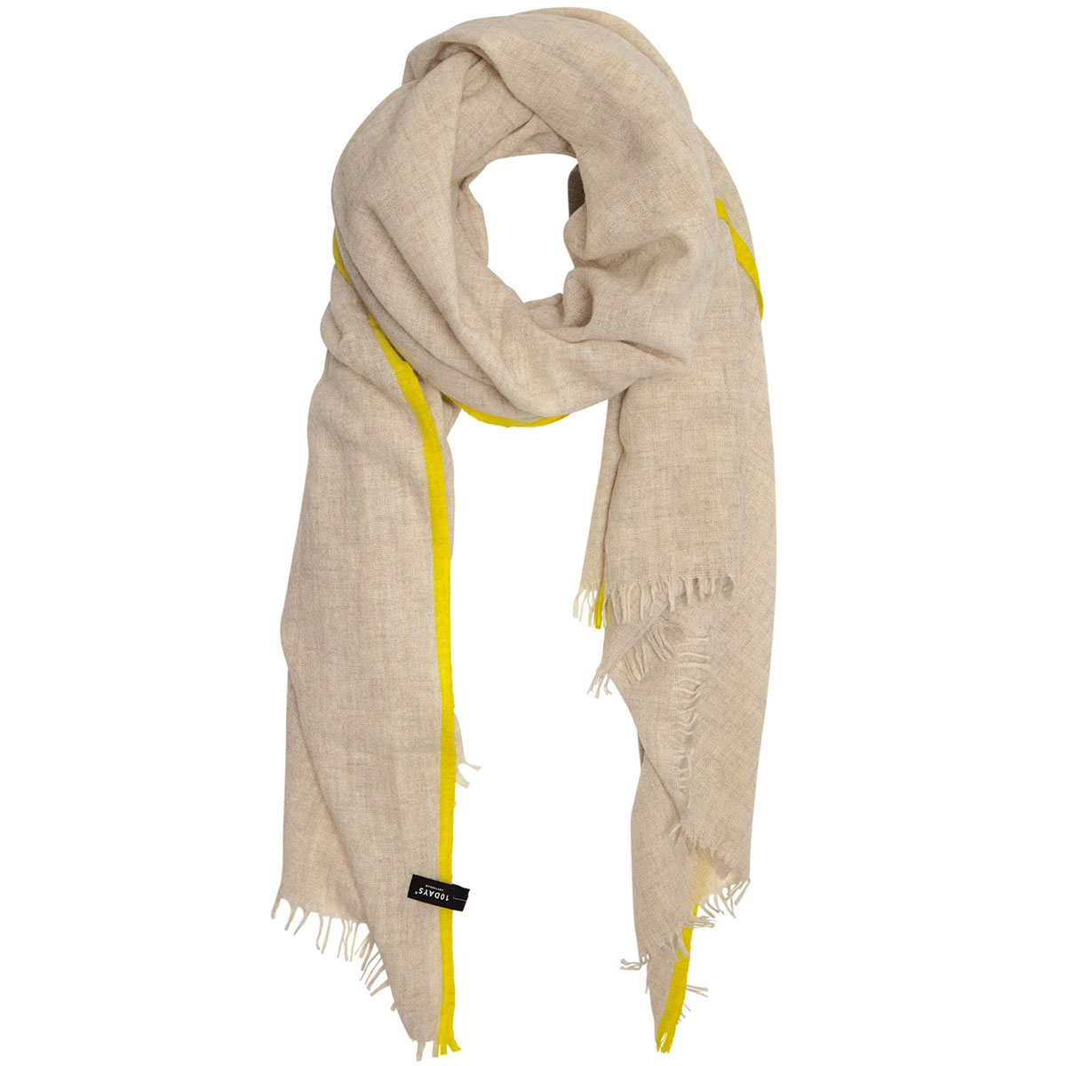 scarf fluor stripes 20 904 9103 10 days sjaal soft white melee