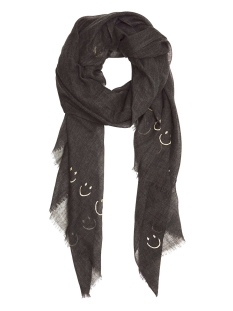 10 Days Sjaal SCARF SMILEY LUREX 20 903 9103 DARK ELEPHANT
