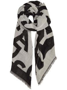 scarf big logo 20 906 9103 10 days sjaal 1039 dark elephant