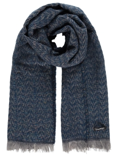scarf waves mc12 0913 haze & finn sjaal dark navy