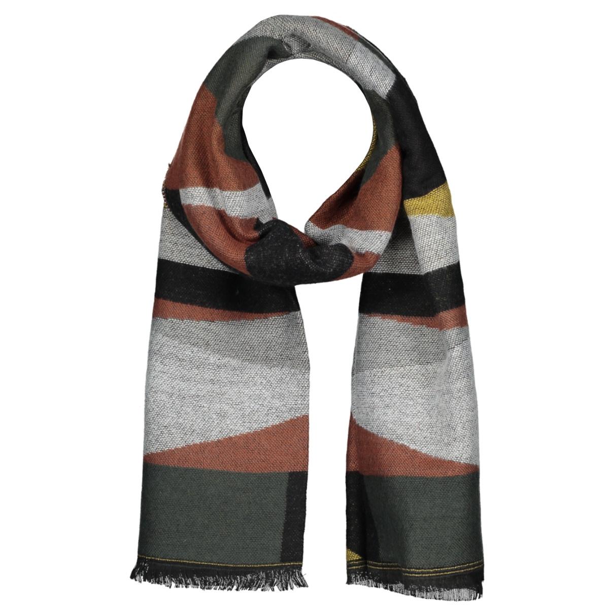 scarf random triangle mc12 0910 haze & finn sjaal rosewood