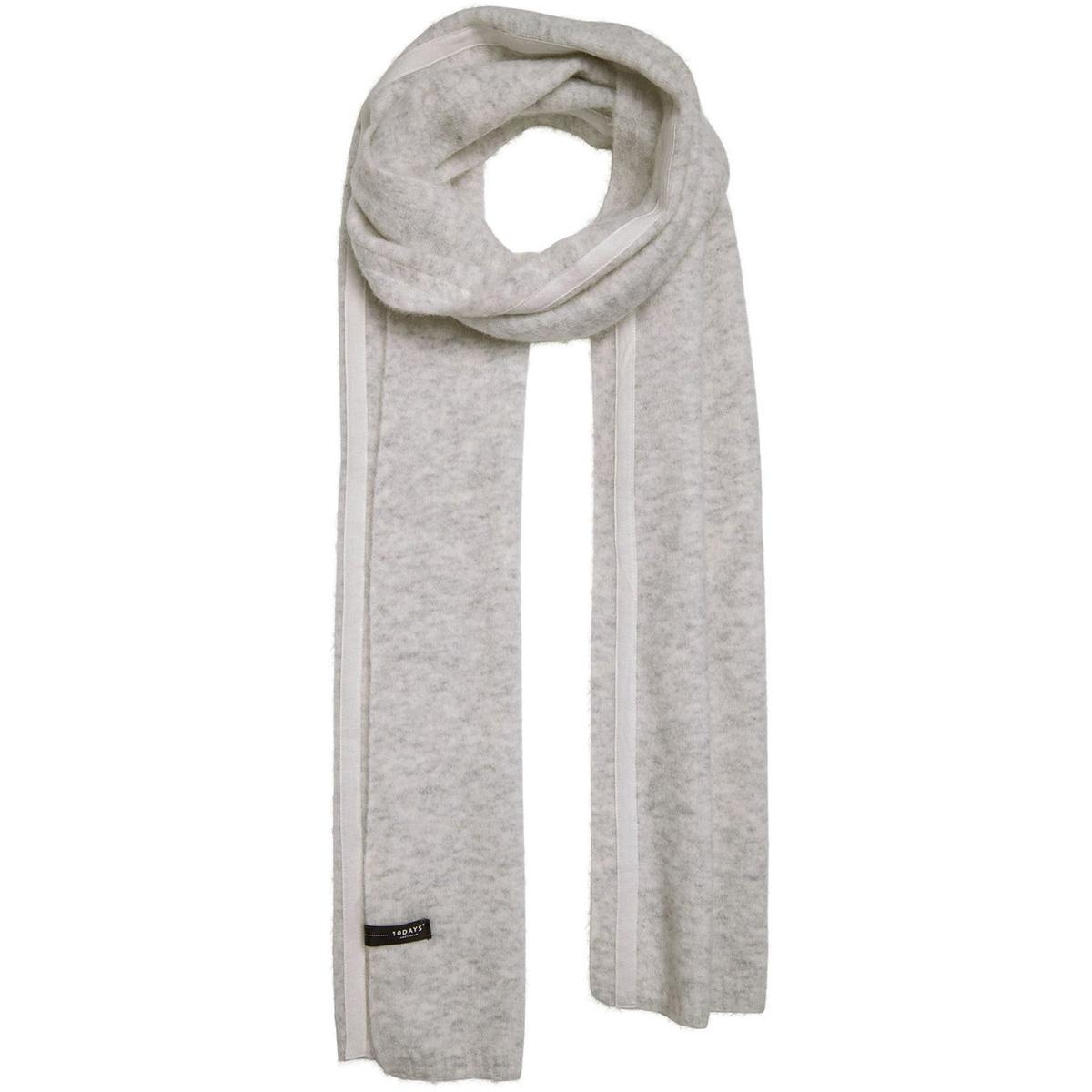 scarf merino wool 20 690 9103 10 days sjaal soft white melee