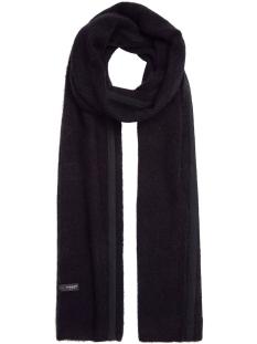scarf merino wool 20 690 9103 10 days sjaal black