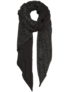 10 Days Sjaal SCARF SATIN 20 903 9104 BLACK