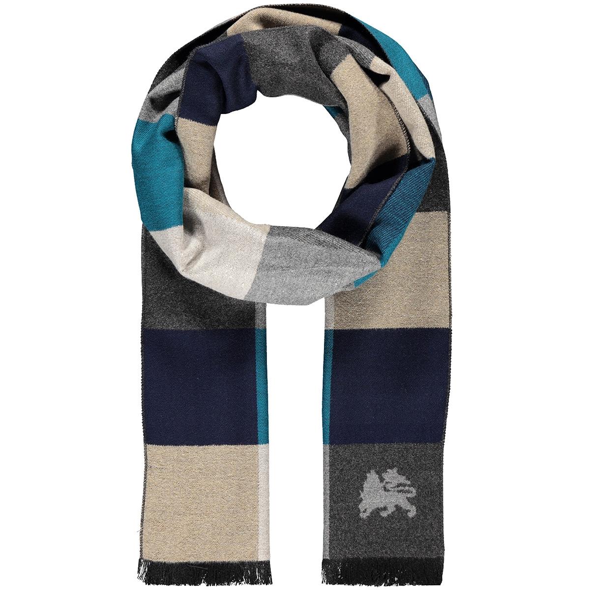 shawl geometric patchwork 59n1001 lerros sjaal 483