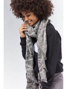 scarf leaf 20 902 0201 10 days sjaal black