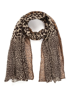 Touch Sjaal ANIMAL SCARF SH68535 BROWN