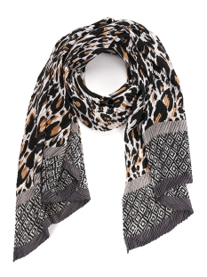 Touch Sjaal PAIGE SCARF SH68529 LEOPARD/GREY