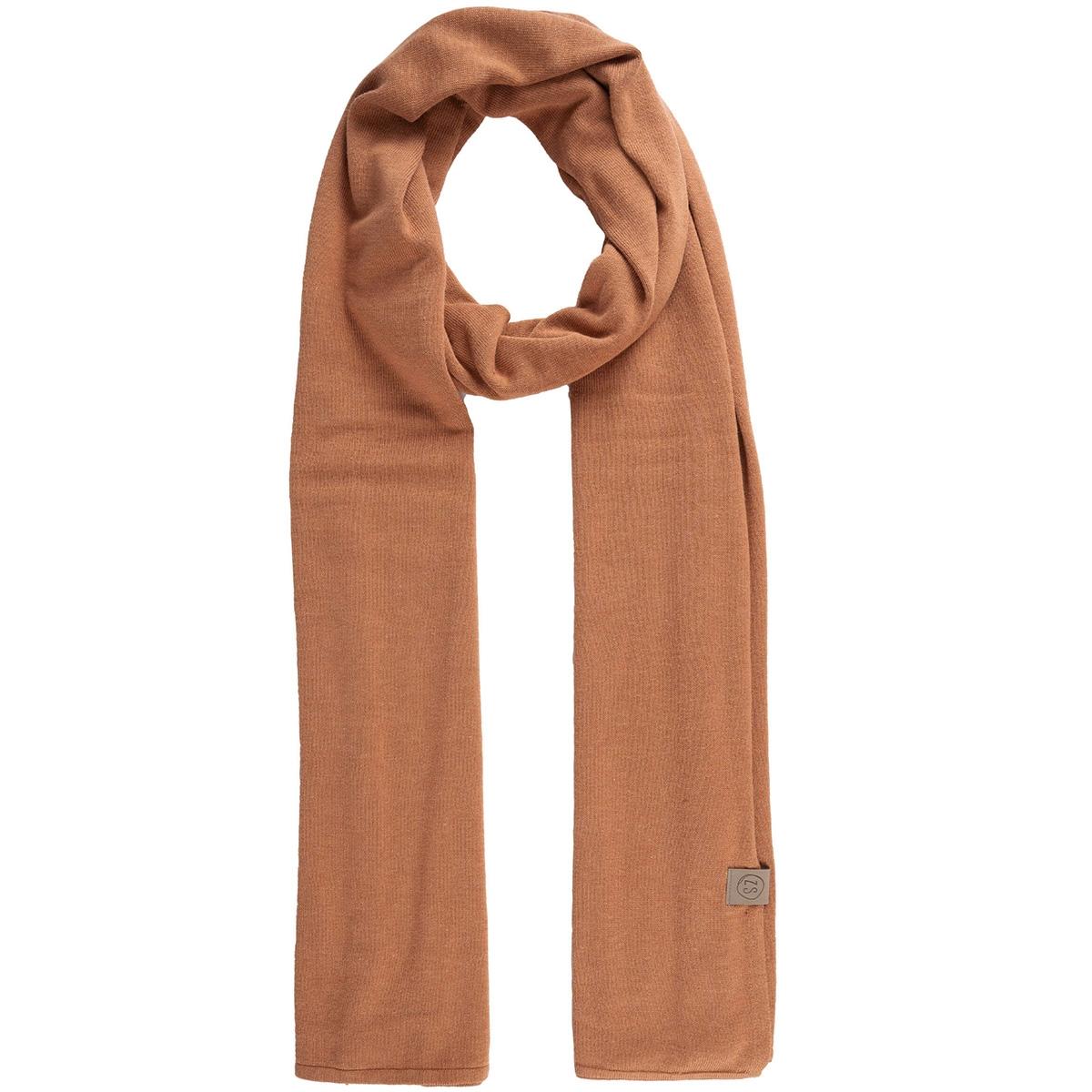 fijngebreide zachte sjaal 0307 007 6506 zusss sjaal honing