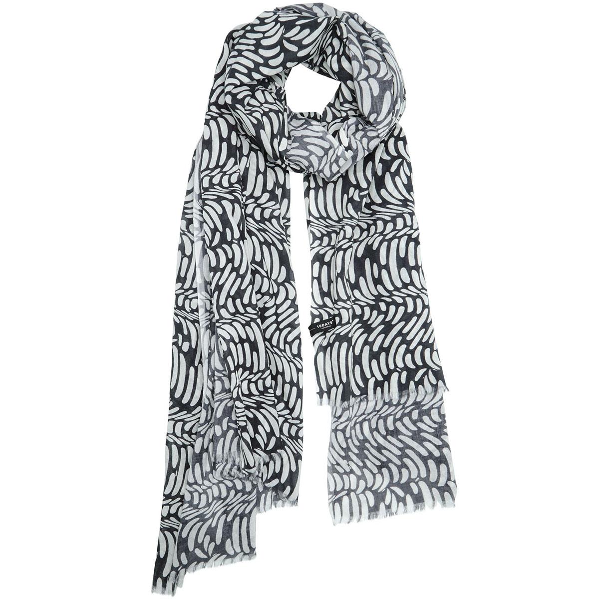 pareo scarf wave 20 908 0201 10 days sjaal 1002 ecru