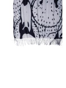 sjaal zwanen 0307 009 7009 00 zusss sjaal kunst