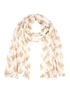 Touch Sjaal LEO SCARF SH68673 OFF WHITE