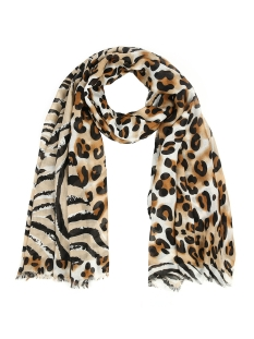 Touch Sjaal ANIMAL MIXED SCARF SH68677 BROWN