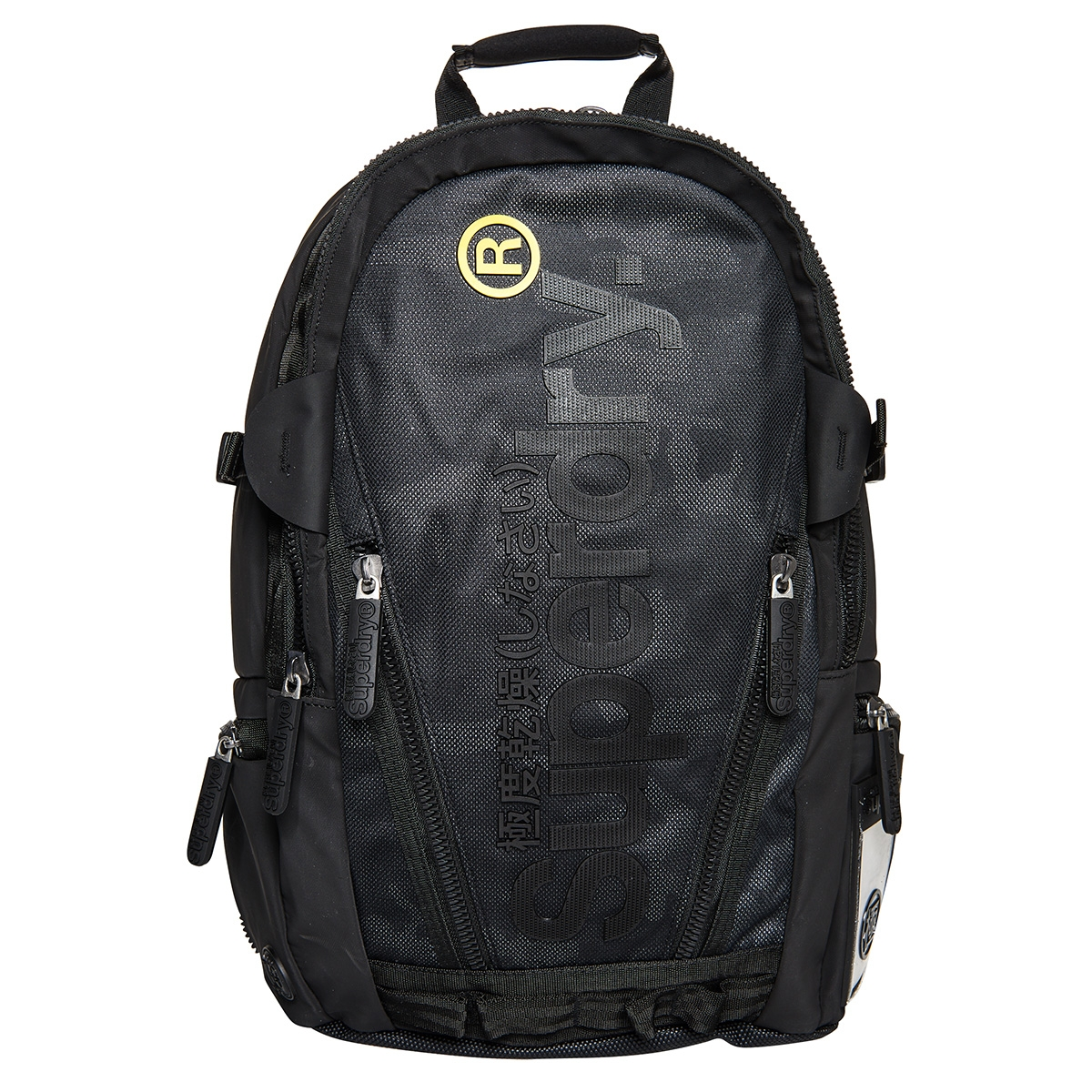 camo fade tarp rucksack m9100004a superdry tas black