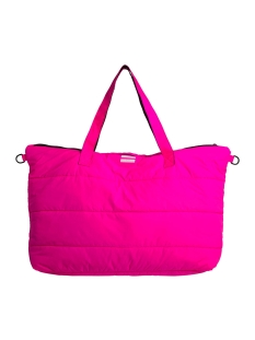 10 Days Tas SHOPPER PUFFED NYLON 20 950 9103 1051 FLUOR PINK