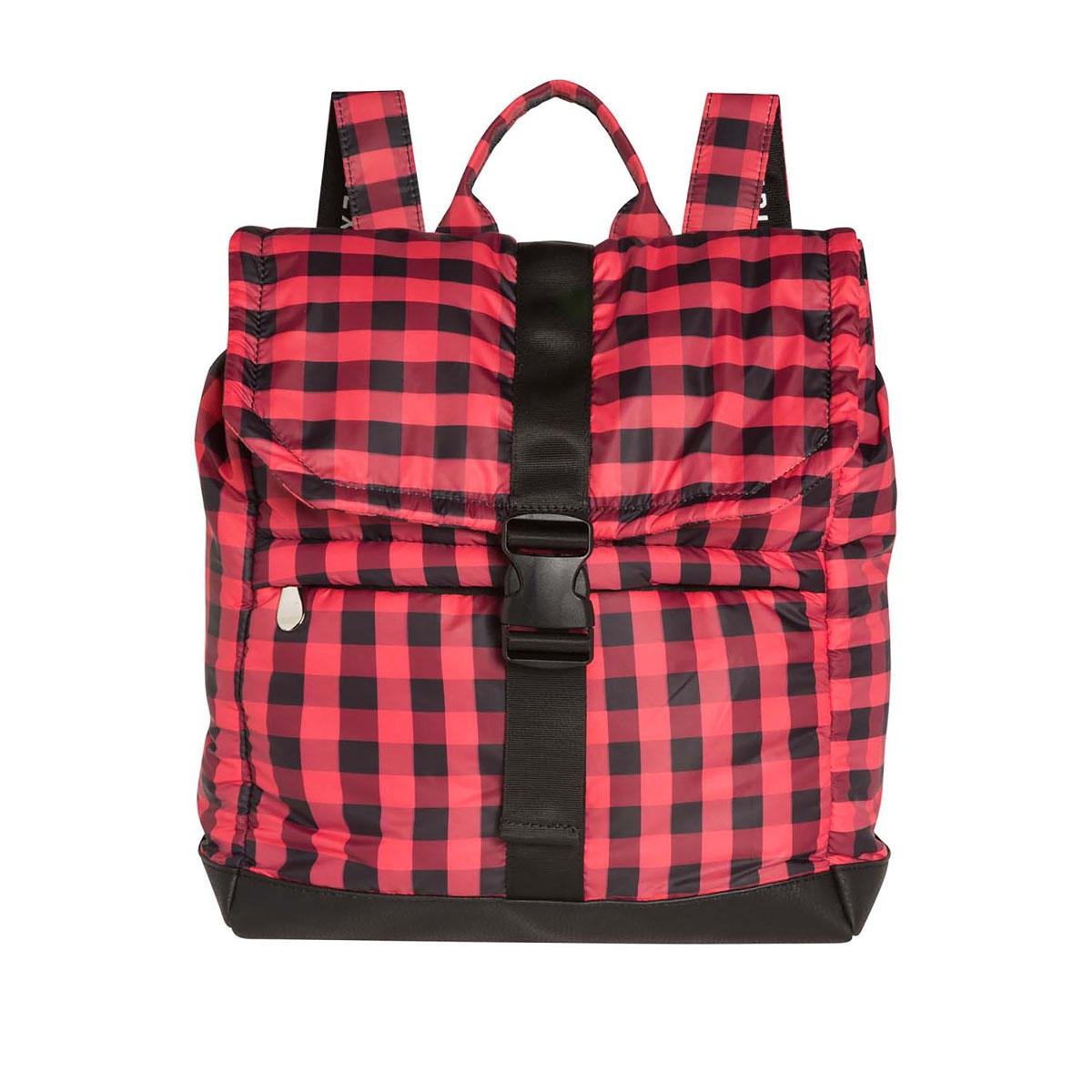 backpack puffy nylon 20 959 8103 10 days tas fluor red