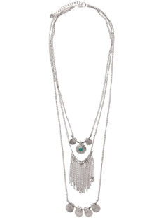 pcbeluna necklace 17074360 pieces sieraad silver colour