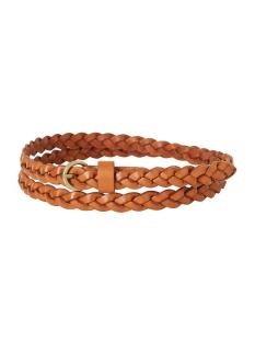 vmsofia leather belt 10151097 vero moda riem cognac