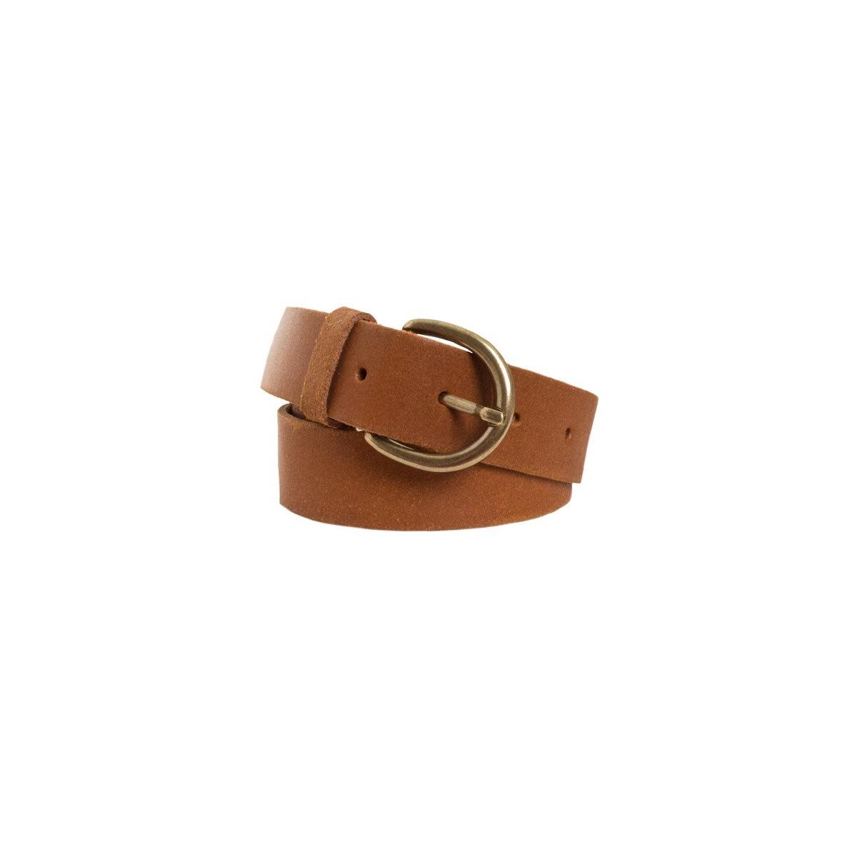 london leather jeans belt 17033524 pieces riem cognac
