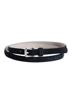 pctera suede slim jeans belt 17071890 pieces riem black