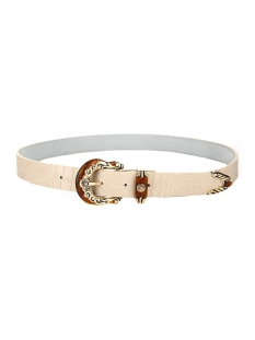 Touch Riem CROCO DETAIL BELT 11622 BEIGE