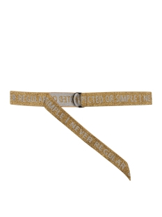 elastic belt 20 940 0203 10 days riem gold