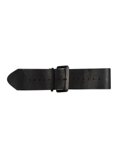 10 Days Riem BIG LEATHER BELT 20 943 0203 BLACK