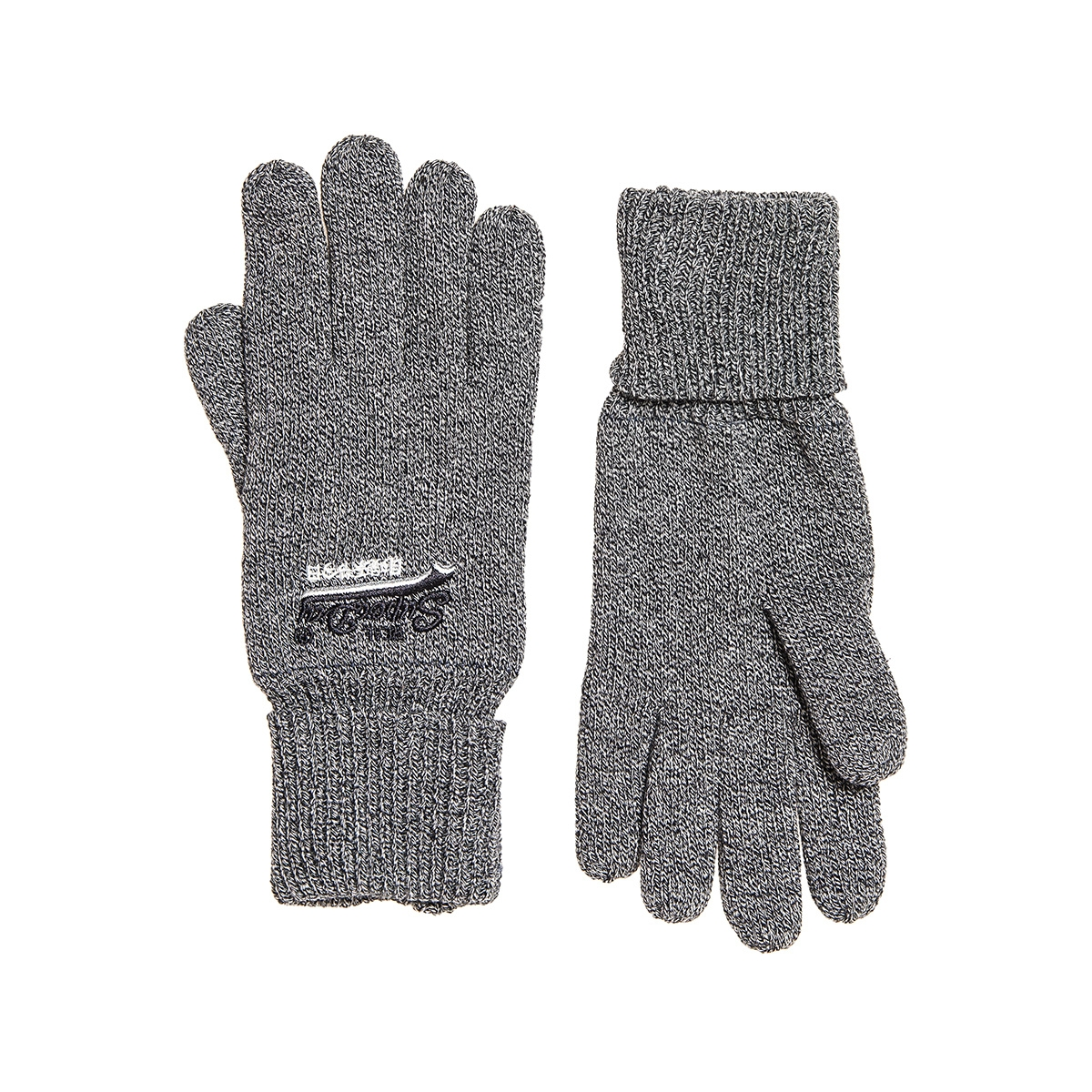 orange label glove m9300003a superdry accessoire basalt grey grit