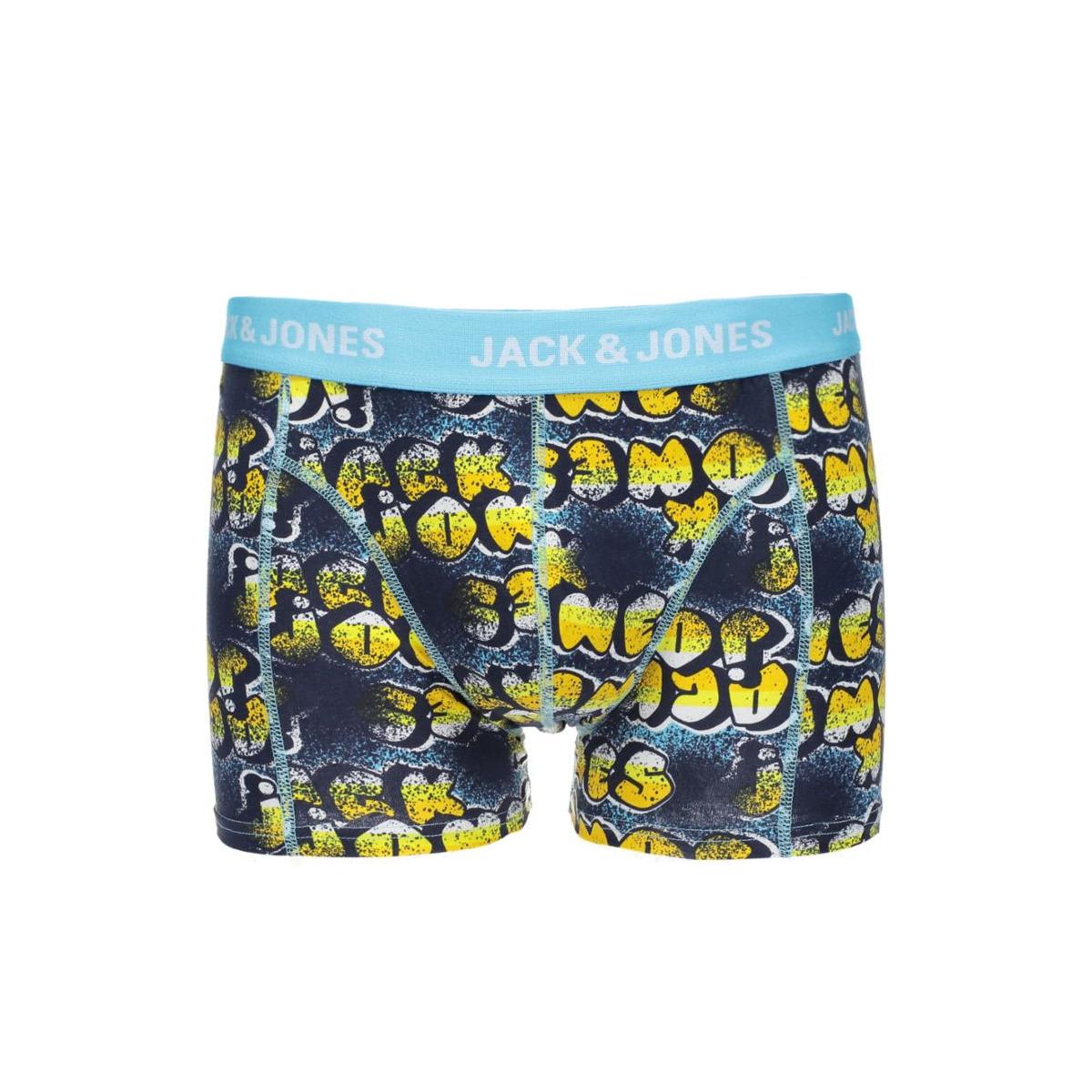 jjacymexitype trunks 12107233 jack & jones ondergoed blue fish
