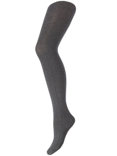 pcpelin tights 17076340 pieces accessoire dark grey melange