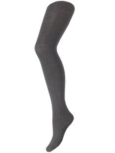 pcpelin tights 17076340 pieces accessoire dark grey melange