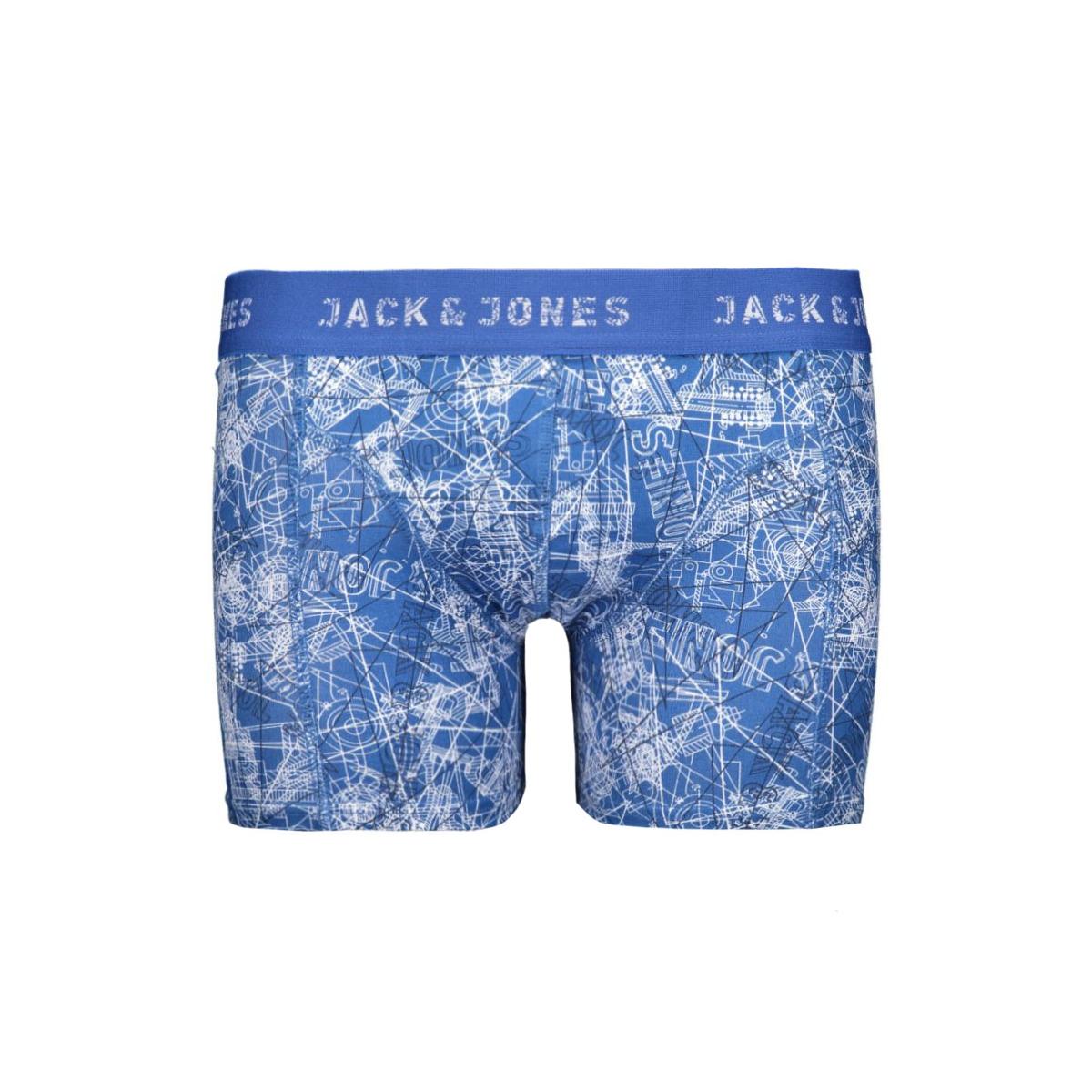 jactown trunks noos 12113320 jack & jones ondergoed classic blue/constructe