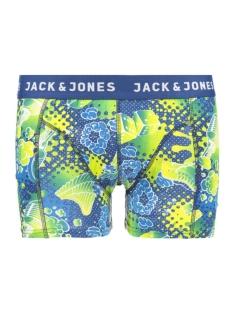 Jack & Jones Ondergoed JACPAISLEY TRUNKS NOOS 12117420 Viridian Green