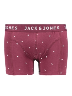 Jack & Jones Ondergoed JACSKATEUNIVERS TRUNKS NOOS 12109534 Burgundy