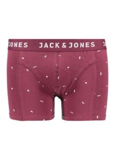 Jack & Jones Ondergoed JACSKATEUNIVERS TRUNKS NOOS 12109534 Burgundy