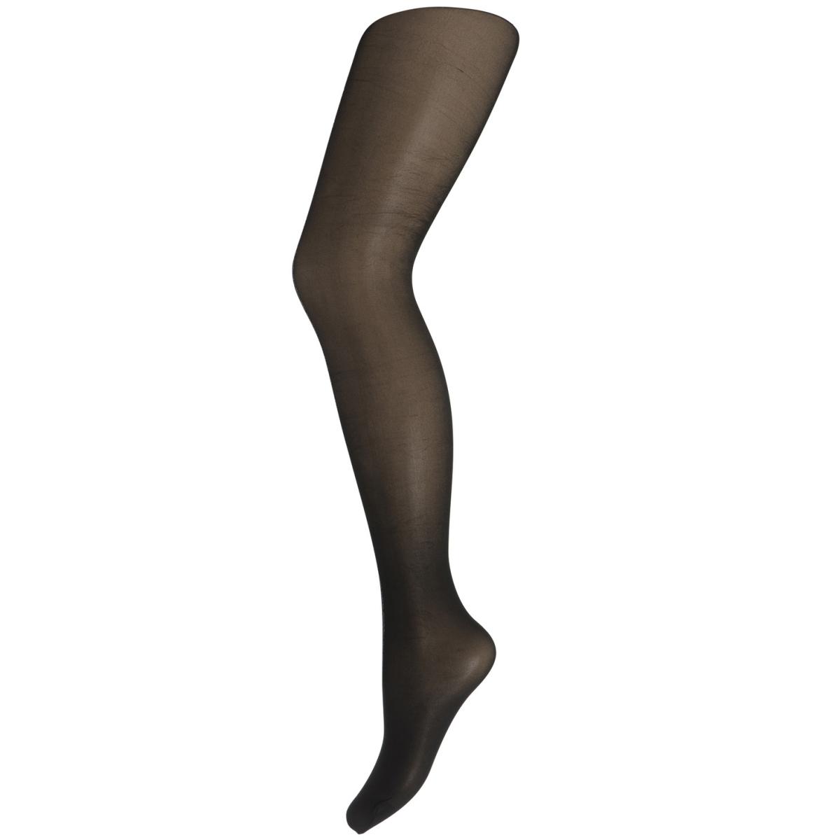 pcroxie tights 20 den 17085519 pieces accessoire black/ silver lurex