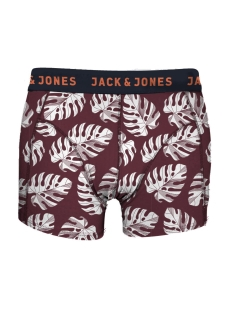 Jack & Jones Ondergoed JACLEAF TRUNKS NOOS 12135313 Cordovan