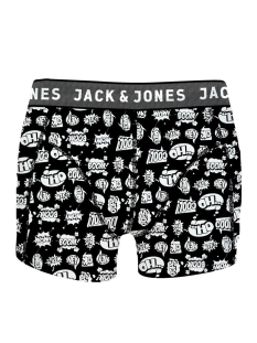 Jack & Jones Ondergoed JACHECTOR TRUNKS NOOS 12140098 Black