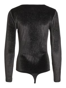 viglittering l/s body 14049275 vila t-shirt black