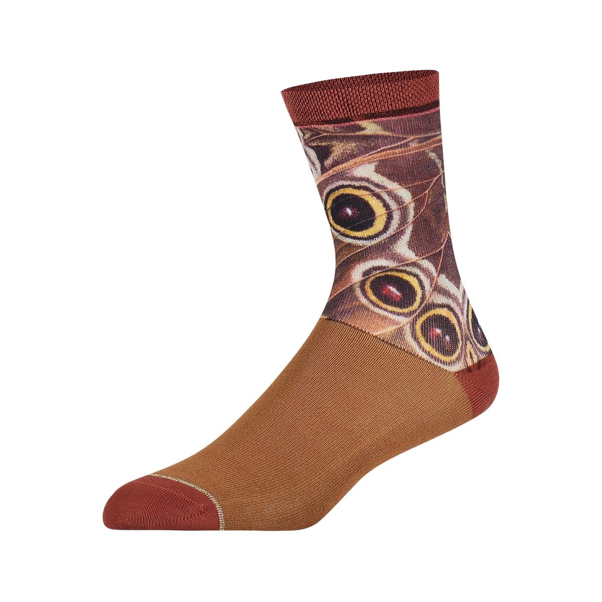 hw18w005 night moth sock my feet accessoire multi