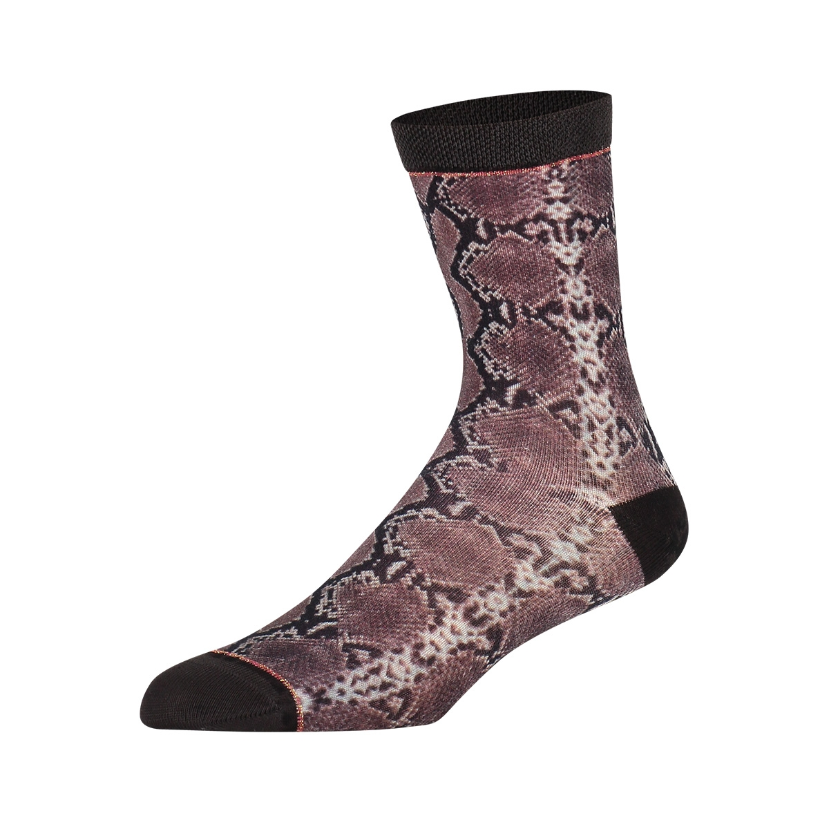 hw18w006 snakeskin sock my feet accessoire multi