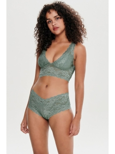 onlchloe lace brief 2-pack noos acc 15175168 only ondergoed chinois green